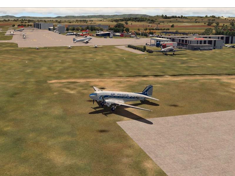 Compte rendu du vol du vol réseau du 13/05/2016 - Vol en DC3 AV1