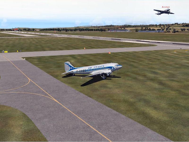 Compte rendu du vol du vol réseau du 13/05/2016 - Vol en DC3 AV2