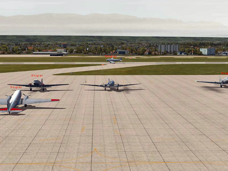 Compte rendu du vol du vol réseau du 13/05/2016 - Vol en DC3 AV8