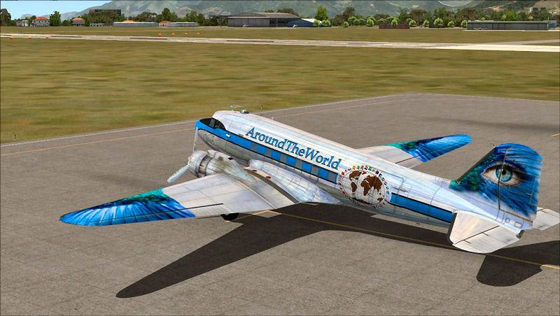 A la découverte des Petits aéroports ou aérodromes d'Europe DC3B