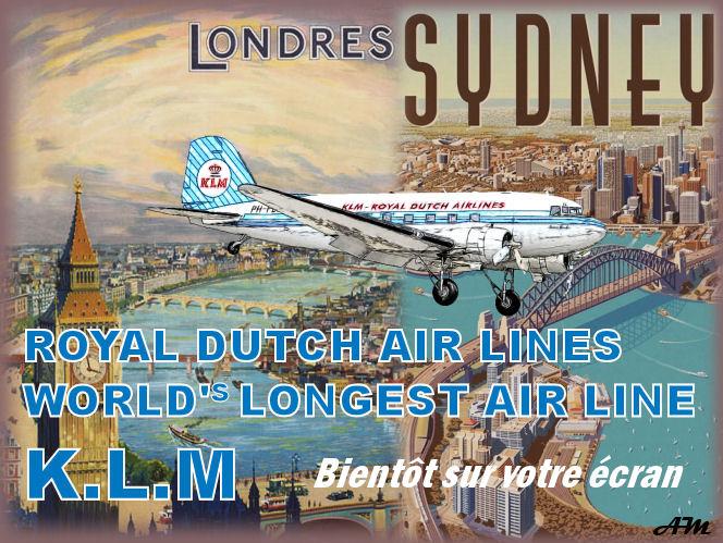 Liaison Londres - Sydney (Vol historique de 1938) LS1