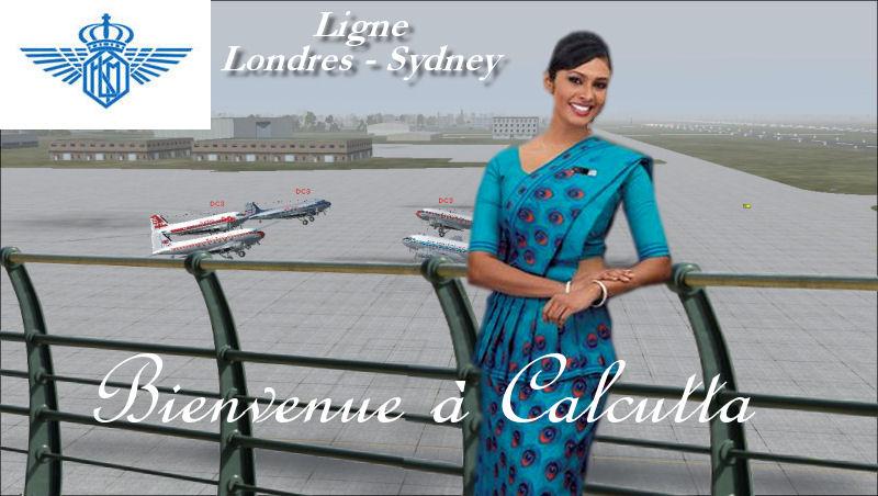 Compte rendu du vol VA1D - VECC (Londres/Sydney) Calcutta